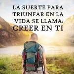 Frases con fotos de reflexion: Triunfar en la vida