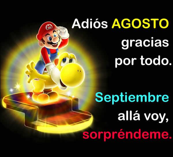 Ultimo dia de Agosto