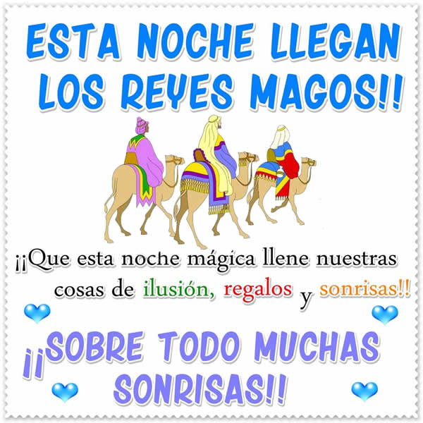 Imagenes: Feliz Reyes Magos