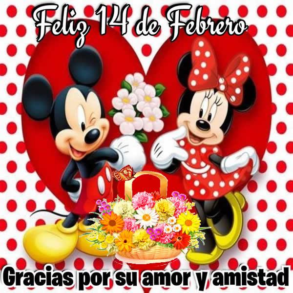 Imagenes Lindas con Feliz 14 de febrero Dia del Amor