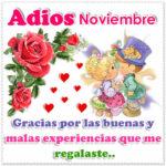 Imagenes de adios noviembre