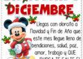 Frases de bienvenido diciembre
