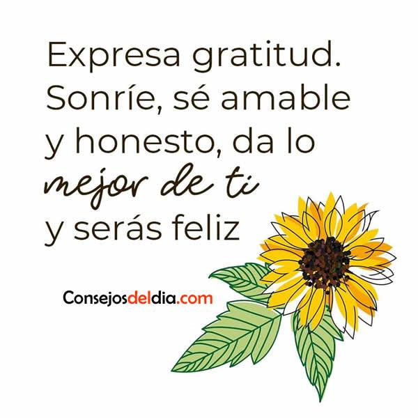 Expresa tu gratitud