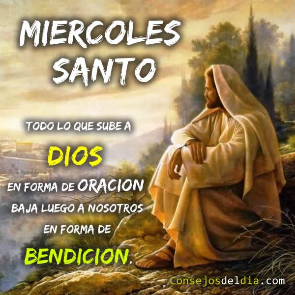"""Semana Santa """"Feliz Miercoles Santo"""""""