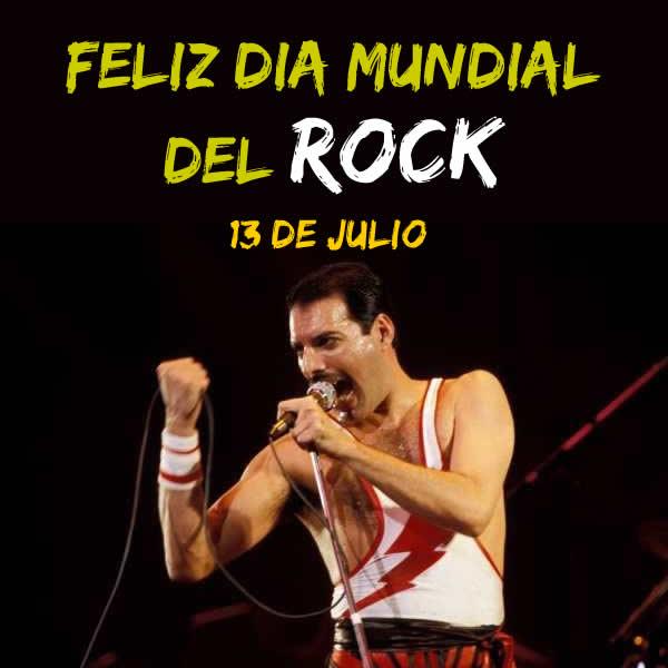 Feliz dia del ROCK