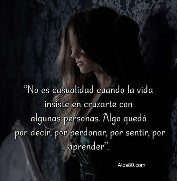 casualidad frases
