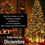 Feliz mes de Diciembre Letras