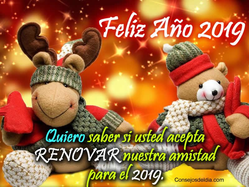 Mensajes de Año Nuevo 2019 con Fotos