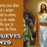 Jueves Santo: Frases con imagenes cristianas