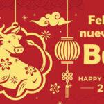 Feliz año nuevo chino 2021 con imagenes bonitas