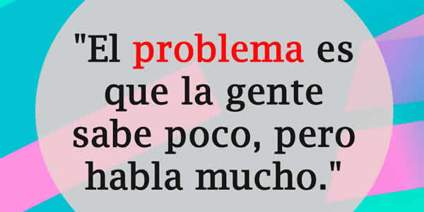 problema frases