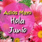 Frases Adios Mayo Bienvenido Junio 2021 con imagenes