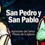 Feliz Día San Pedro y San Pablo 2021 con imagenes bonitas